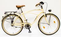 Kerékpár CRUISER 26/18 NEO FFI GR 16 KRÉM BARNA ALK