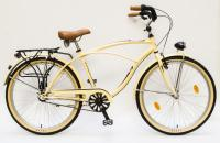 Kerékpár CRUISER 26/18 NEO FFI N3 16 KRÉM BARNA ALK