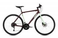 Kerékpár CS RAPID ALU 2.1 28/590 19 MATT BORDO/MENTA