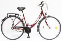 Kerékpár BUDAPEST A 28/17 N3 2020 BORDÓ YS-7496