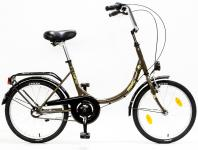 Kerékpár CAMPING 20/15 MV N3 17 BARNA/BÉZS