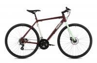 Kerékpár CS RAPID ALU 1.1 28/590 19 MATT BORDO/MENTA