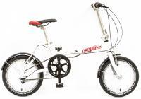 Kerékpár MINI 16 ÖSSZECSUKHATO N3 2017 FEHÉR YS775-1