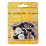 Műanyag stopli acél horonnyal 12 db-os