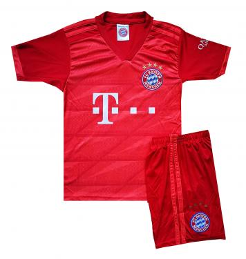 2019/20-as Bayern München hazai mezgarnitúra Kimmich felirattal