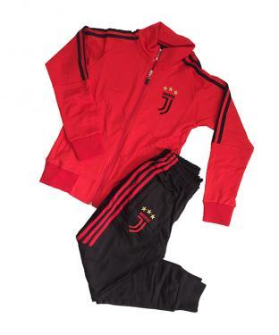 Juventus gyerek szabadidőruha (piros)