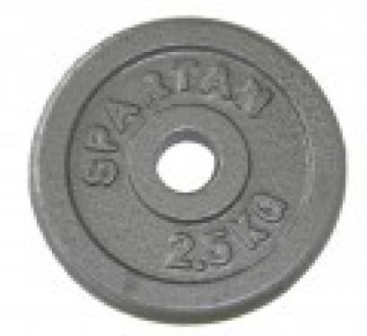 Fém súlytárcsa 50 mm 10 kg