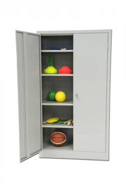 Sportszertároló szekrény