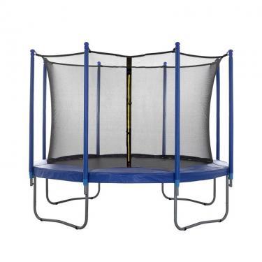 Trambulin védőháló 4 lábas  belsőhálós  244 cm
