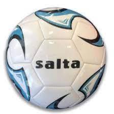 Futball labda, géppel varrott, kék, 5-ös méret, Salta
