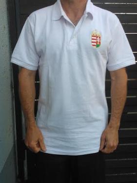 56346ce6c4 Galléros Hungary póló fehér - Sportvilág - addel.hu piactér