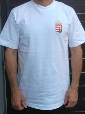 HUNGARY pamut póló fehér