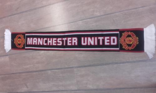Manchester United kötött sál
