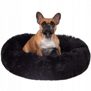 Nyugtató kutyaágy, macskaágy 120 cm fekete