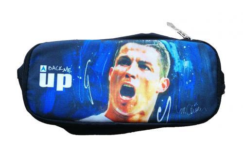 Ronaldo dupla cipzáras tolltartó