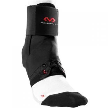 Ultrakönnyű bokavédő pánttal - FEKETE (McDavid 195 Black)
