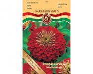 Pompás rézvirág dáliavirágú piros