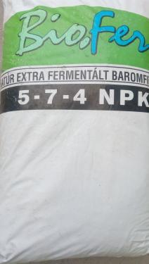 Bio-Fer granulált csirketrágya 25kg NATÚR