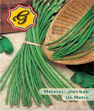 Méteres-, öles bab, Un Metro, -30 g