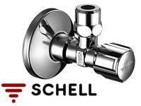 """SCHELL COMFORT Sarokszelep 1/2""""-3/8"""" roppantógyűrűs"""