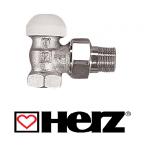 """HERZ-TS-90 1/2"""" termosztatikus szelep sarok kivitel"""