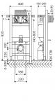 SCHELL MONTUS 820 WC TARTľLY 82cm!