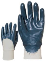 Mártott Nitril kesztyű kék 9407
