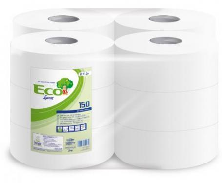 Toalett papír közepes Lucart Eco 150 812126