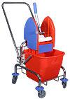 TEMI 002 Egyvödrös takarítókocsi egyszerű