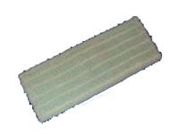 Mikromop, füles, fehér-zöld, 50 cm