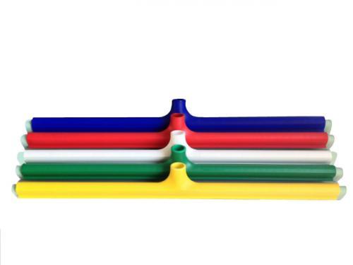 Műanyag kétélű vízlehúzó zöld gumival 75cm 206