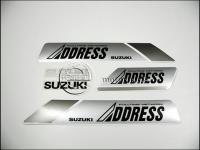 SUZUKI ADDRESS MATRICA KLT. ADDRESS KICSI /EZÜST/ 821022-M -HUN