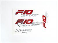 MALAGUTI F10 MATRICA KLT. F10 /PIROS-EZÜST/ 821014-M -HUN