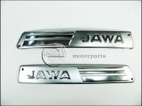 JAWA 350 12V BENZINTANK FEDÉL KRÓM PÁR 590-39-030-M -CZE