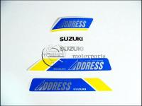 SUZUKI ADDRESS MATRICA KLT. ADDRESS KICSI /KÉK/ 821097-M -HUN