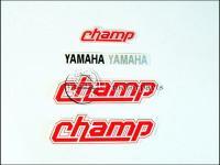 YAMAHA 54V CHAMP MATRICA KLT. CHAMP /PIROS/ 821102-M -HUN