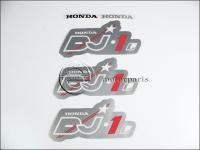 HONDA DJ 1 AF12 MATRICA KLT. DJ1 /EZÜST/ 821105-M -HUN