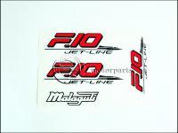 MALAGUTI F10 MATRICA KLT. F10 /PIROS-FEKETE/ 821106-M -HUN