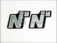 SIMSON 50 MATRICA DEKNIRE /EZÜST/ PÁR 192560-E -HUN