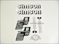 SIMSON 50 MATRICA KLT. S50B FEHÉR 821276 -HUN