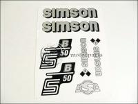 SIMSON 50 MATRICA KLT. S50B EZÜST 821277 -HUN