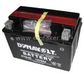Dynavolt Akku YTX9-BS 12V 8AH (DTX9-BS) DYNAVOLT gond.mentes DB DTX9-BS CHN