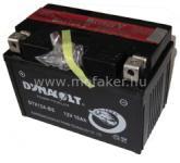 Dynavolt Akku YT12A-BS 12V 10AH (DTX12A-BS-C) DYNAVOLT gond.mentes DB DTX12A-BS CHN