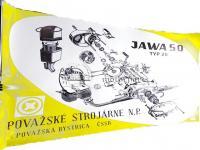 JAWA 223 MUSTANG-50 SZERELÉSI ÁBRA 620193 EUR