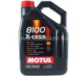 Motul MOTUL 8100 X-cess 5W40 5L Gk. Motorolaj . FRA