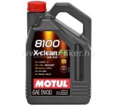 Motul MOTUL 8100 X-clean FE 5W30 1L Gk. Motorolaj . FRA