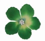 Jwel U Selyemvirág JW2-02 Zöld AB középpel