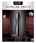 Andis Slimline® Pro Li T-Blade Trimmer Black (EU)