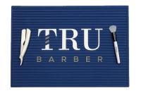 Barber asztali csúszásgátló lap (USA True Barber Mat) Kék