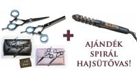 Blade Master Flex Set 5′5 Professzionális Fodrászolló Szett + Ajándék!